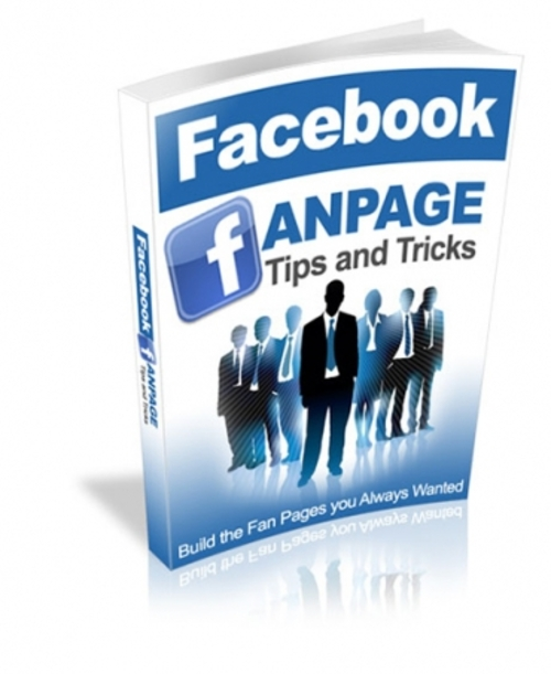 Product picture Facebook Fan Page Tips and Tricks 2018