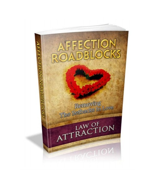 Product picture Affection Roadblocks - Removing The Setbacks In Love